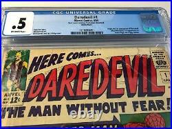 1st app. Daredevil in Daredevil #1 comic CGC 0.5