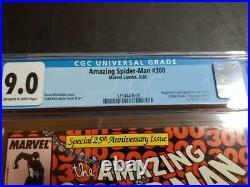 AMAZING SPIDER-MAN #300 CGC 9.0 1988 ORIGIN1st FULL APP VENOM