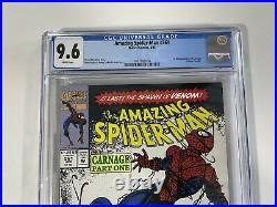 AMAZING SPIDER-MAN 361 CGC 9.6 1st Appearance App of CARNAGE Venom 2 Movie
