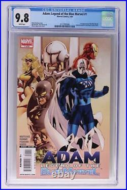 Adam Legend of the Blue Marvel #1 Marvel 2009 CGC 9.8 1st App Blue Marvel