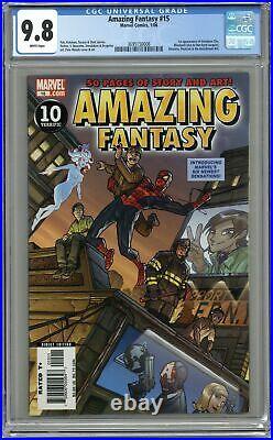 Amazing Fantasy #15 CGC 9.8 2006 3695150006 1st app. Amadeus Cho