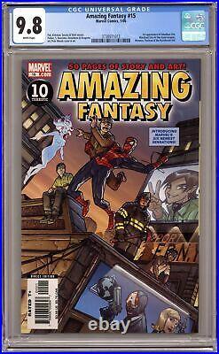 Amazing Fantasy #15 CGC 9.8 2006 3738971013 1st app. Amadeus Cho