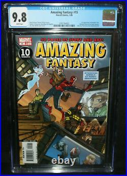 Amazing Fantasy #16 1st App of Amadeus Cho Hulk CGC Grade 9.8 2006