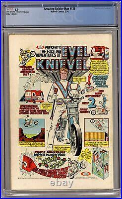 Amazing Spider-Man #129 CGC 6.0 1974 2062136001 1st app. Punisher, Jackal