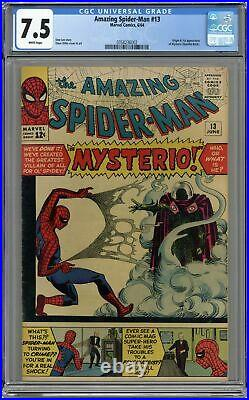 Amazing Spider-Man #13 CGC 7.5 1964 0358236002 1st app. Mysterio