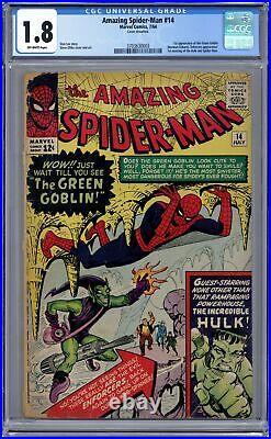 Amazing Spider-Man #14 CGC 1.8 1964 3703630003 1st app. Green Goblin