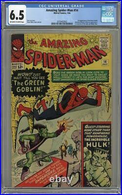 Amazing Spider-Man #14 CGC 6.5 1964 2070462002 1st app. Green Goblin