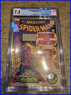 Amazing Spider-Man #15 CGC 7.5 1964 1st app. Kraven