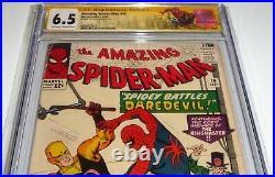 Amazing Spider-Man #16 CGC SS Signature Autograph STAN LEE 2nd Green Goblin App
