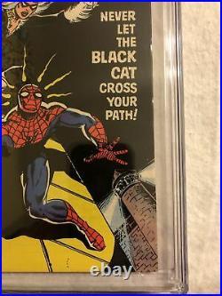 Amazing Spider-Man #194 CGC 9.0 1979 2053129002 1st app. Black Cat White Pages