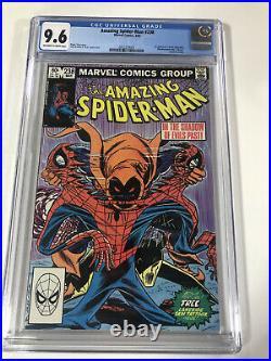 Amazing Spider-Man 238 CGC 9.6 1st Appearance App Hobgoblin Tattoos Newsstand