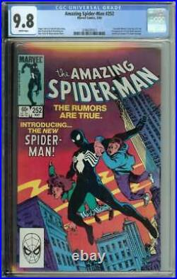 Amazing Spider-Man #252 CGC 9.8 1st App Black Costume Symbiote