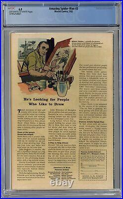 Amazing Spider-Man #3 CGC 6.0 1963 3785254001 1st app. Doctor Octopus