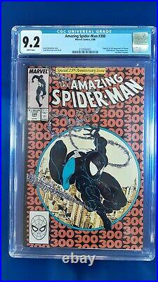 Amazing Spider-Man # 300 CGC 9.2 WP Marvel (1988) 1st app of Venom