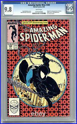 Amazing Spider-Man #300 CGC 9.8 1988 1171312002 1st full app. Venom