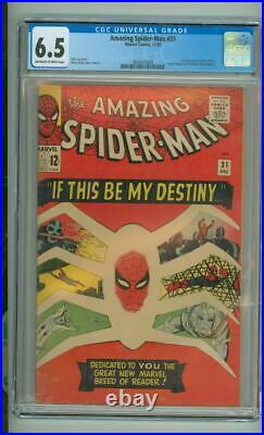 Amazing Spider-Man #31 CGC 6.5 1st App Of Gwen Stacy 1965