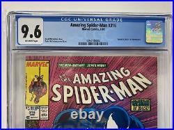Amazing Spider-Man #316 CGC 9.6 Newsstand 1st Full Venom Cover & Black Cat App