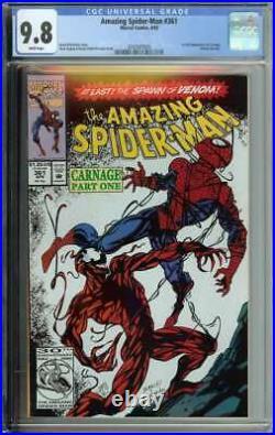 Amazing Spider-Man #361 CGC 9.8 1st Full App Carnage