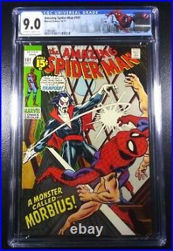 Amazing Spider-man #101 Cgc 9.0 1st App Of Morbius See Auctions