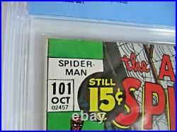 Amazing Spiderman 101 (1st App. Morbius) Cbcs 7.0 Like Cgc Looks 9.0 Stunning