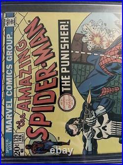 Amazing Spiderman #129 1st APP THE PUNISHER! CGC 5.0
