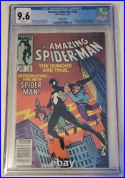 Amazing Spiderman#252 cgc 9.6 (1st app. Of black costume) Canadian price variant
