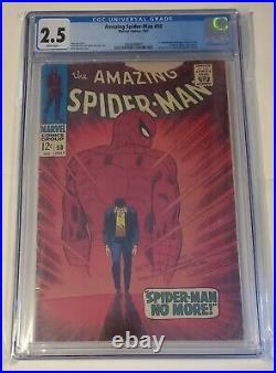 Amazing Spiderman#50 cgc 2.5 (1st app. Of The King Pin) marvel MCU