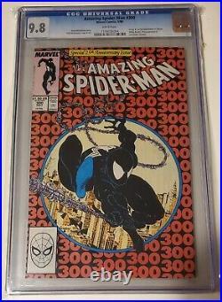 Amazing spiderman#300 cgc 9.8 1st full app of venom (VHTF IN THIS GRADE.)