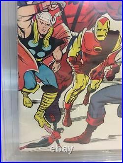 Avengers #10 Cgc 8.5 1st Appearance Of Immortus Baron Zemo Enchantress App