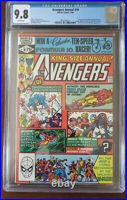 Avengers King-Size Annual #10 CGC 9.8 NM/MT Wp 1st Rogue App Marvel Comics 1981