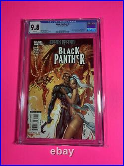 CGC 9.8 BLACK PANTHER #5 1st SHURI App J Scott Campbell Variant Cover 2009 WP