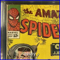 Cgc 4.0 Amazing Spider-man #25 Marvel Comic Book 1st Cameo App Mary Jane Watson