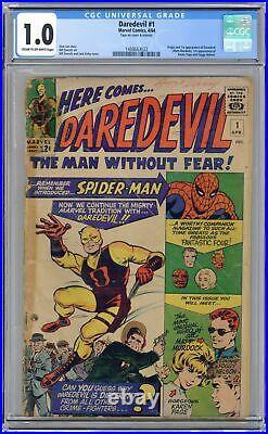 Daredevil #1 CGC 1.0 1964 1488663022 1st app. Daredevil