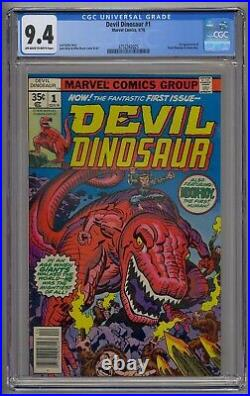 Devil Dinosaur #1 Cgc 9.4 1st App Devil Dinosaur & Moon-boy