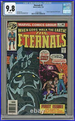 Eternals #1 CGC 9.8 1976 3728525005 1st app. Eternals, Ikaris, Makkari, Kro