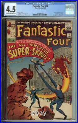 Fantastic Four #18 CGC 4.5 Origin 1st App Super-Skrull