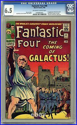 Fantastic Four #48 CGC 6.5 1966 0184902001 1st app. Galactus, Silver Surfer