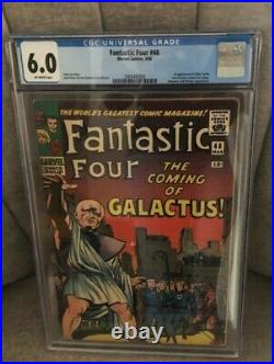 Fantastic Four #48 Cgc 6.0 Off-white Pages- 1st. App. Silver Surfer & Galactus