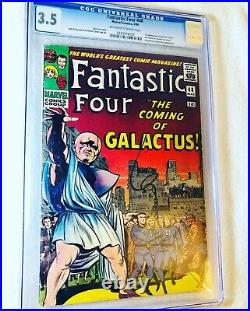 Fantastic Four #48 (Mar 1966, Marvel) CGC 3.5 1st App. Of the Silver Surfer