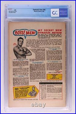 Fantastic Four #48 Marvel 1966 CGC 1.0 1st App/Origin Silver Surfer & Galactus