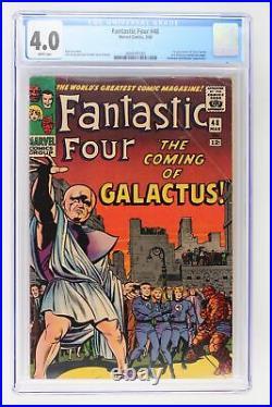 Fantastic Four #48 Marvel 1966 CGC 4.0 1st App/Origin Silver Surfer & Galactus