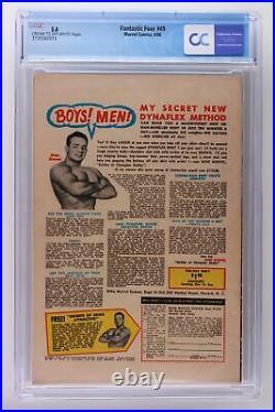 Fantastic Four #49 Marvel 1966 CGC 5.0 1st App Galactus! 2nd App Silver Surfer