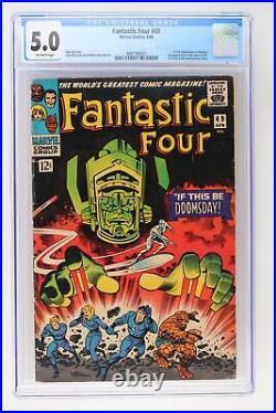Fantastic Four #49 Marvel 1966 CGC 5.0 1st full App Galactus