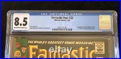 Fantastic Four #52, CGC 8.5 1st App Black Panther 2071121012