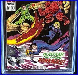 Fantastic Four #63 CGC 9.6 White Pgs Sandman & Blastaar App! Marvel 1967