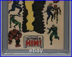 Fantastic Four #67 Origin & 1st App of Him / Warlock In Cameo 1967 CGC 6.5