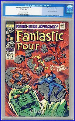 Fantastic Four Annual #6 CGC 9.0 1968 0056571011 1st app. Franklin Richards