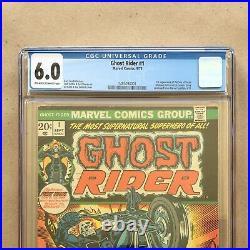Ghost Rider #1 CGC 6.0 Comic Book 1st App Son of Satan Marvel Bronze Key Rare