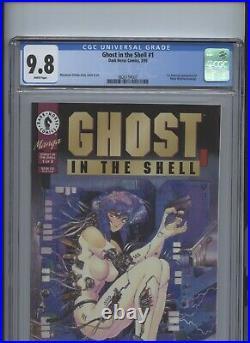 Ghost in the Shell #1 CGC 9.8 1st American app of Major Motoko Kusanagi