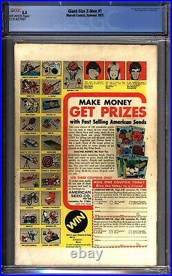 Giant-Size X-Men #1 1st App of New X-Men CGC 5.5 Marvel Comics